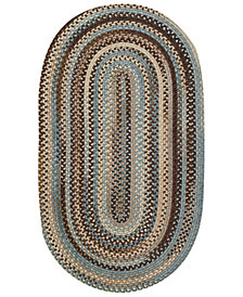 Capel Area Rug, American Legacy Oval Braid 0210-700 2' x 3'