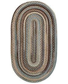 Capel Area Rug, American Legacy Oval Braid 0210-700 3' x 5'