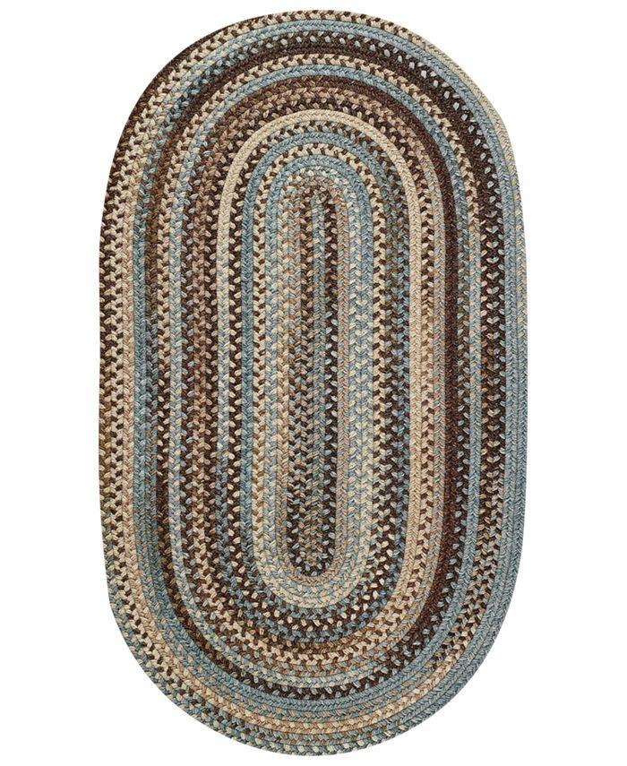 Capel - Area Rug, American Legacy Oval Braid 0210-700 8' x 11'