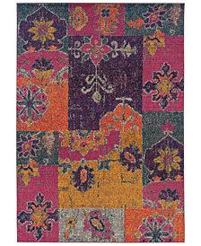 "Oriental Weavers Area Rug, Kaleidoscope 2060V Rad Patchwork 6'7"" x 9'1"""