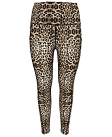 Leopard-Print Cropped Leggings, Created for Macy's