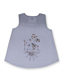 Petite Graphic Tank Top, Created for Macy's