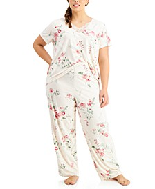 Women's Plus Size Patricia Pajama Set
