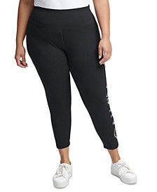 Plus Size Wildcat Logo Leggings