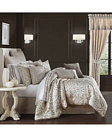 Milan Queen 4 Pieces Comforter Set