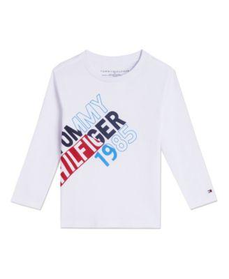 Toddler Boys Split Long Sleeve T-shirts