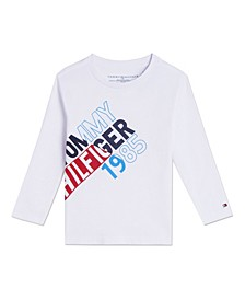 Toddler Boys Split Long Sleeve T-shirts