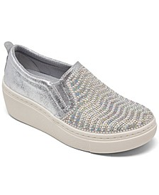 Women's Goldie Hi - Diamond Waves Slip-On Platform Casual Sneakers from Finish Line