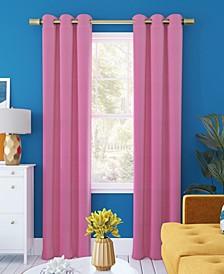 "Harper Bright Vibes 100% Blackout Grommet Curtain Panel, 40"" x 63"""