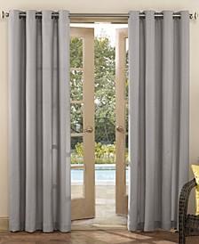 """Sailor Indoor-Outdoor Ultraviolet Protectant Room Darkening Grommet Curtain Panel, 95"""" L x 54"""" W"""