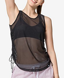 Women's Big Eye Mesh Tank Top
