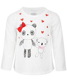 Baby Girls Panda & Koala Cotton Top, Created for Macy's
