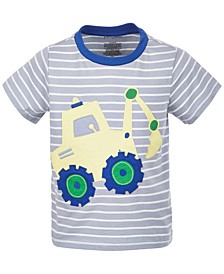 Baby Boys Digger Cotton T-Shirt, Created for Macy's