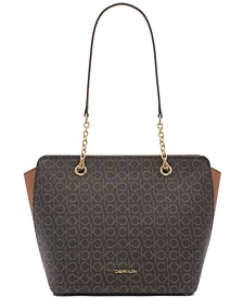 Signature Hailey Tote