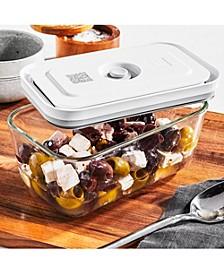 Fresh & Save Medium Glass Rectangular 30-Oz. Vacuum Box