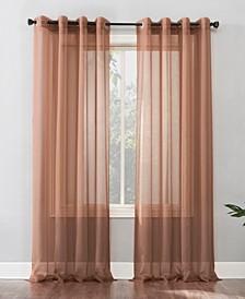 "Emily Grommet Curtain Panel, 59"" x 84"""