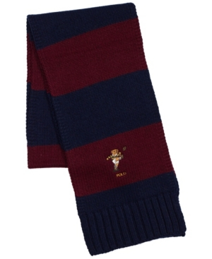 Polo Ralph Lauren Men's Cold Weather Bear Scarf