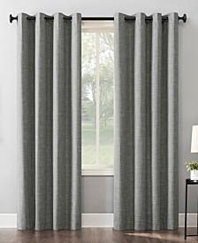 Kline Burlap Weave Thermal Blackout Curtain Panel Collection