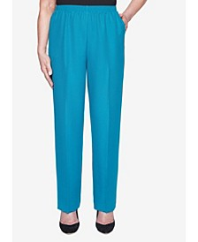 Women's Plus Size Classics Textured Proportioned Short Pant