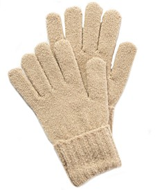Rib Solid Gloves With Lurex, Created for Macy's