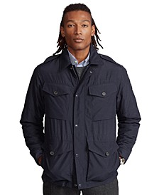 Men's Nylon Utility Jacket