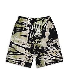 Men's Tie-Dye Drawstring Shorts