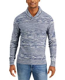 Stone Shawl-Collar Sweater