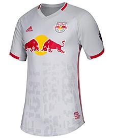 adidas New York Red Bulls Men's Primary Authentic Jersey