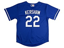 Los Angeles Dodgers Kids Official Player Jersey Clayton Kershaw