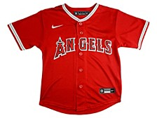 Los Angeles Angels Kids Official Blank Jersey