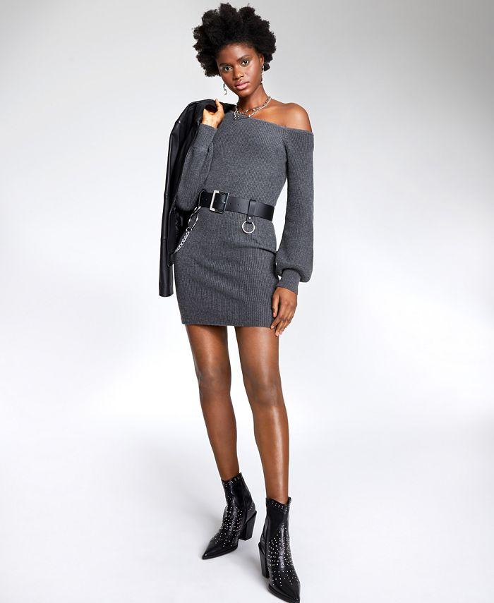 Bar III - Asymmetrical Sweater Tunic