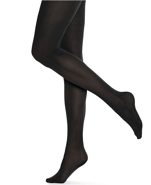 4cb4d22bd Hue Women s Opaque Tights   Reviews - Handbags   Accessories - Macy s
