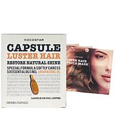 Luster Hair Capsule Mask, Pack of 3