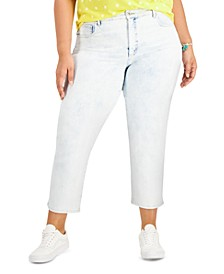 Plus Size Mom Jeans, Created for Macy's