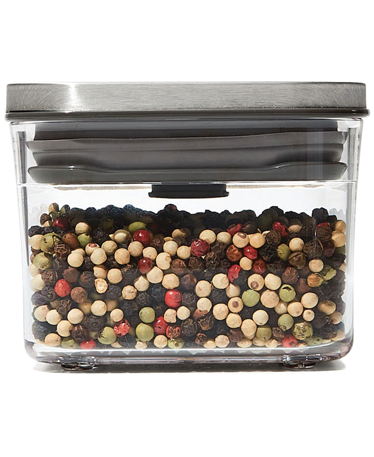 Oxo Steel Pop Small Square Mini 0.4-Qt. Food Storage Container