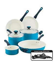 Go Healthy! Nonstick 14-Pc. Cookware Set