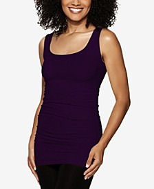 Side Ruched Tank Top