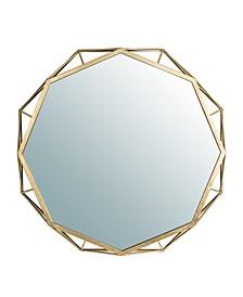 Deluxe Octagonal Wall Mirror