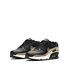 Big Kids Air Max 90 LTR Casual Sneakers from Finish Line