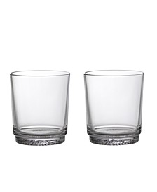 It's My Match Water Glass, Clear Set of 2