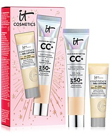 It Cosmetics Celebrate Confidence in Your Complexion Hydrating, Skin-Loving Full Coverage Duo! Only $15 with any IT Cosmetics purchase. A $27.50 Value!
