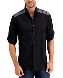 INC Men's Duncan Pieced Shirt, Created for Macy's