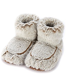 Women's Scented Microwavable Plush Boots