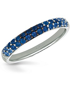 Ombré Sapphire Band (1/2 ct. t.w.) in 14k White Gold