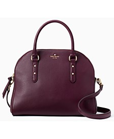 Leather Larchmont Avenue Reiley Satchel