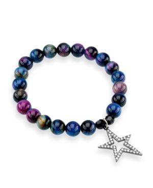 Galaxy Tiger's Eye Gemstone Bracelet