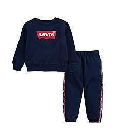 Toddler Boys Sweatshirt and Jogger Set