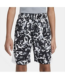 Big Boys Printed Basketball Shorts