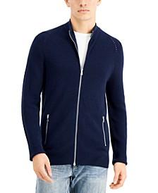 INC Men's Howie Full-Zip Sweater, Created for Macy's