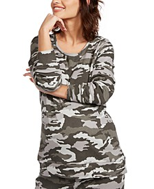 Maternity Camouflage Top